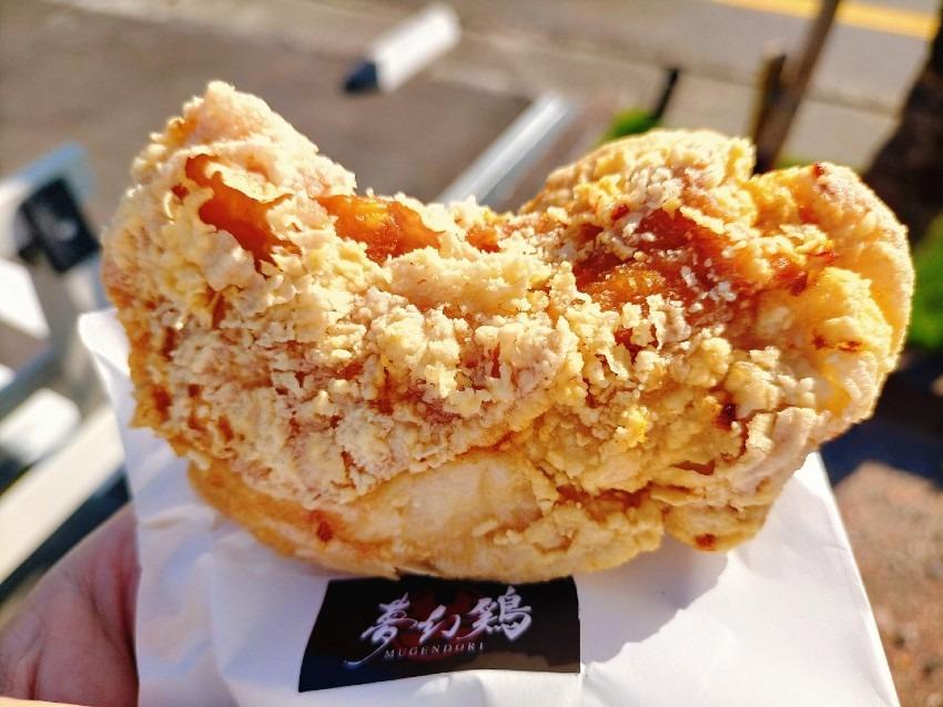 柔らかくジューシーで、鶏の旨味と肉汁が溢れる大判揚げ!夢幻鶏 (むげんどり)