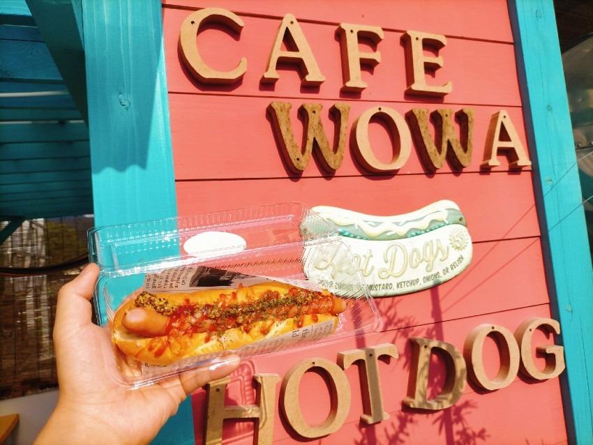 直方で話題のキャンピングトレーラーのカフェテラス!cafe WOWA(ウーワ・うーわ)